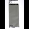 Silver Tissue Paper - 75cm X 50cm - 3 Sheets