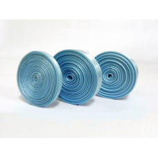 9mm X 5m Light Blue Satin Ribbon