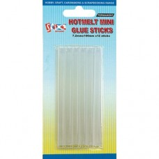 Hot Melt Glue Sticks - 12 Per Pack