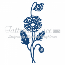 Tattered Lace Die Poppy