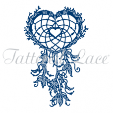Tattered Lace Die Heart Dream Catcher