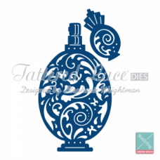 Tattered Lace Die Perfume Bottle