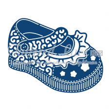 Tattered Lace Die Baby Girl Shoe