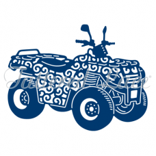 Tattered Lace Die Quad Bike