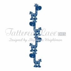 Tattered Lace Die Giraffe Border