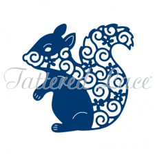 Tattered Lace Die Squirrel