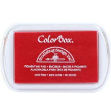 Colour box pigment ink Red