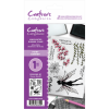 Crafter's Companion A6 Unmounted Rubber Stamp - Fairy Garden