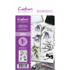 Crafter's Companion A6 Unmounted Rubber Stamp - Sparkle Garden